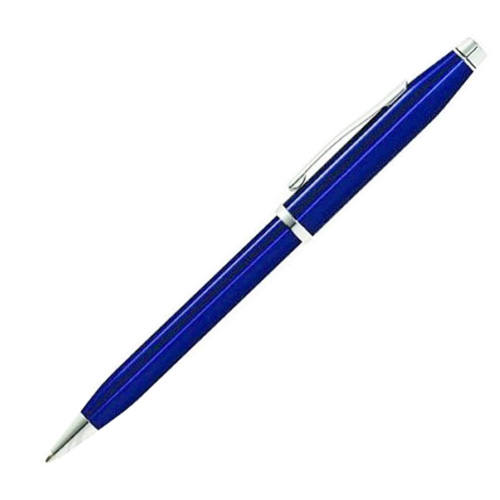 CROSS AT0082WG-103藍亮漆白來原子筆