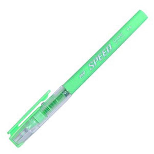 SKB G-1507黃綠 0.5中性鋼珠筆