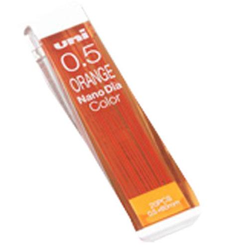 Uni三菱202NDC1P橘彩色自動鉛筆芯0.5mm
