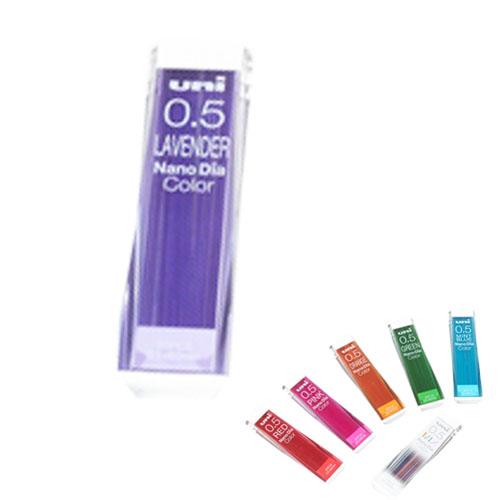 Uni三菱202NDC1P紫藍彩色自動鉛筆芯0.5mm
