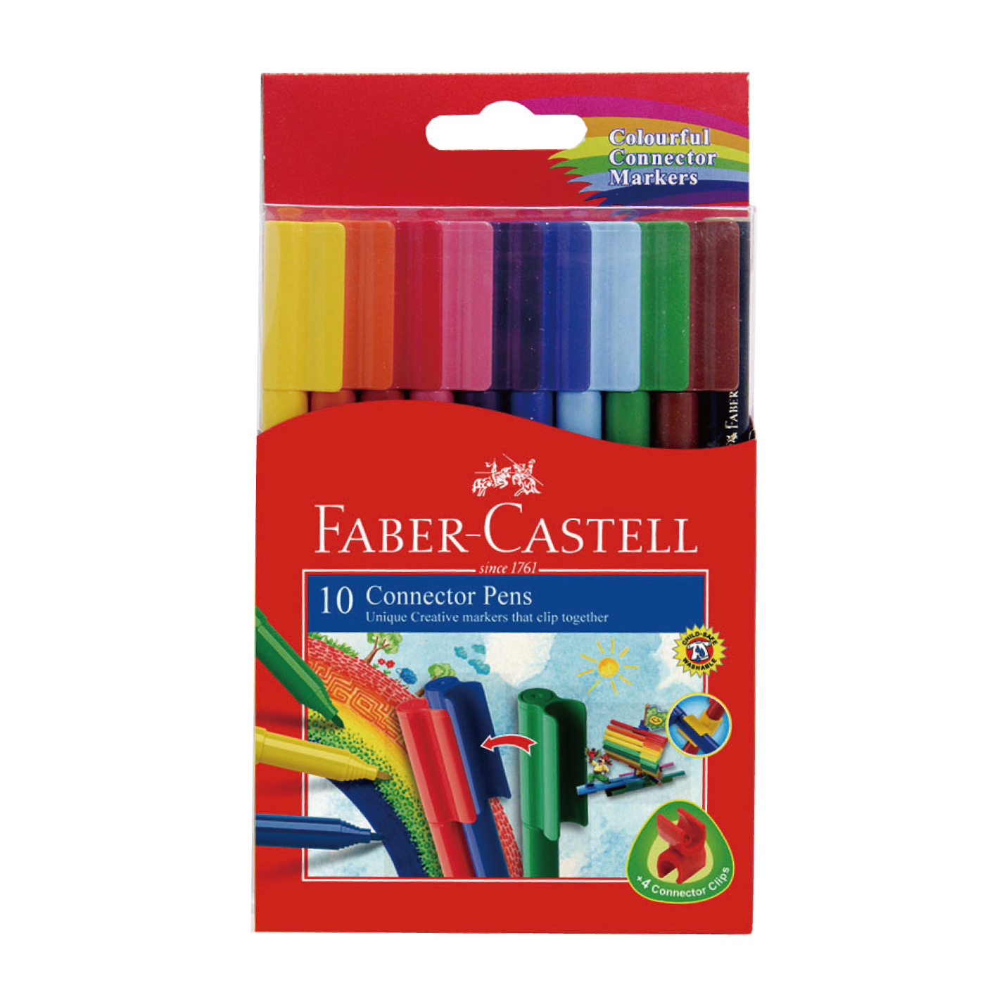 FABER 11-150-A  10色彩色連接筆