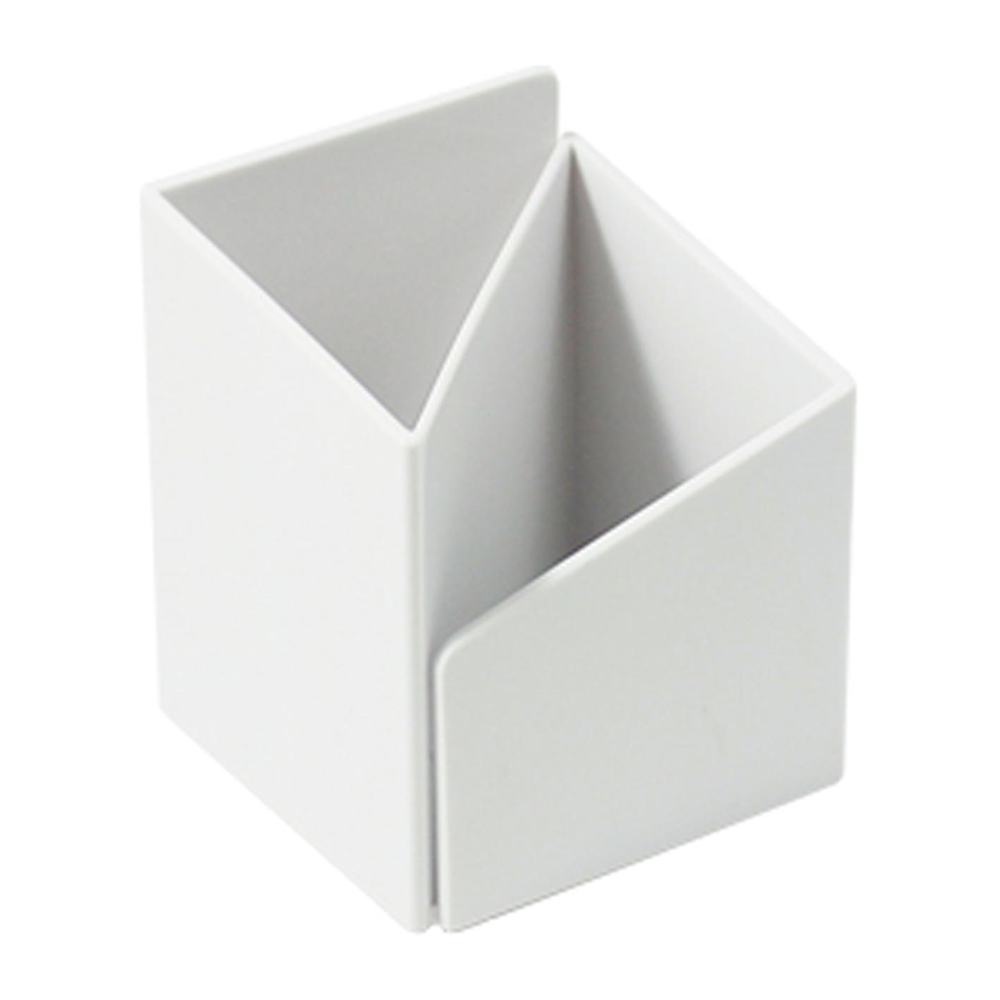 ABEL 03516 白 轉角筆筒