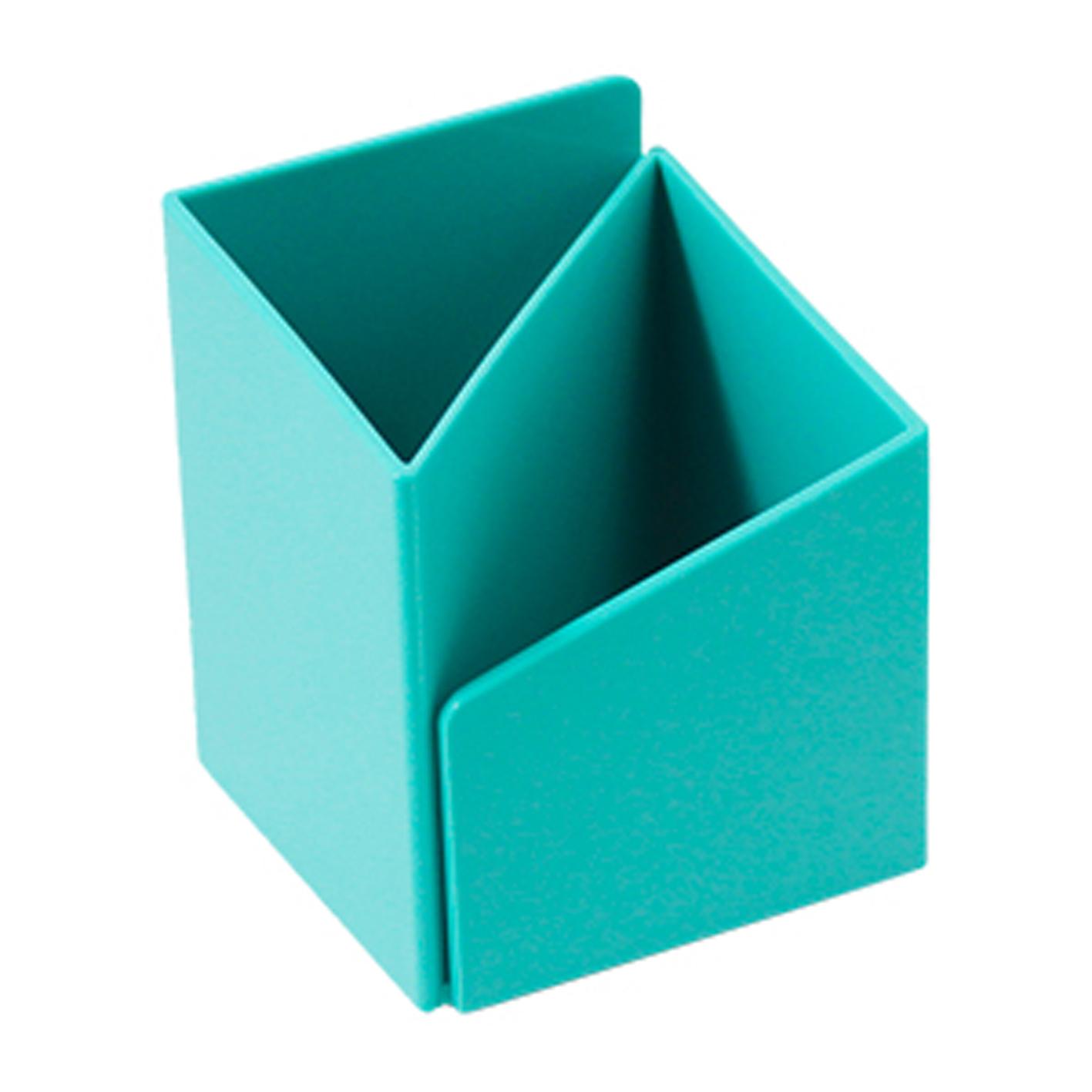 ABEL 03516 水藍 轉角筆筒