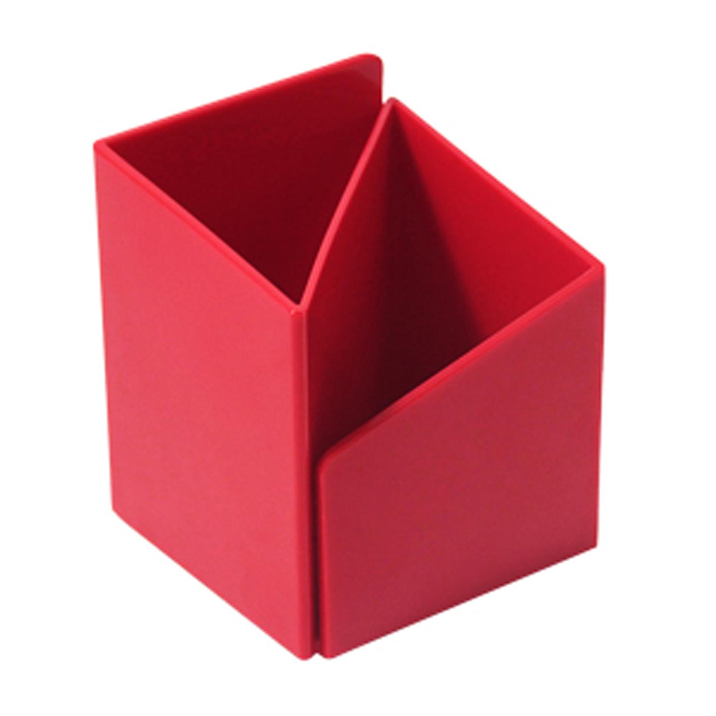 ABEL 03516 紅 轉角筆筒