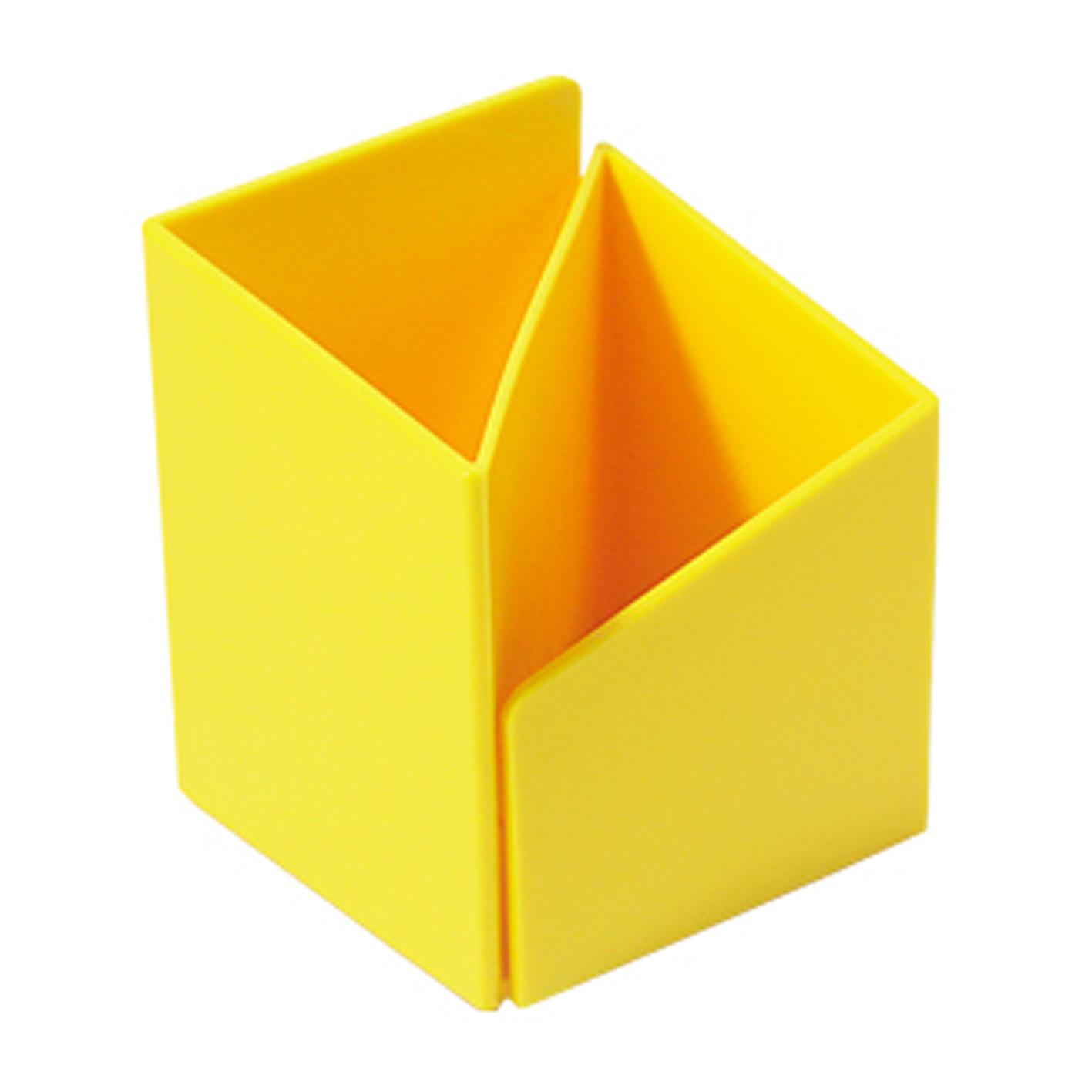ABEL 03516 黃 轉角筆筒