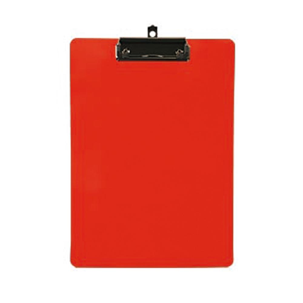 ABEL 66230 紅 輕量防水A4板夾225x313mm