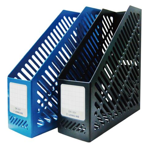 DR-301黑一體成型雜誌盒250×85x290mm