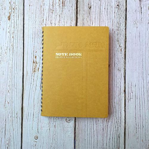 32K活頁筆記本-黃