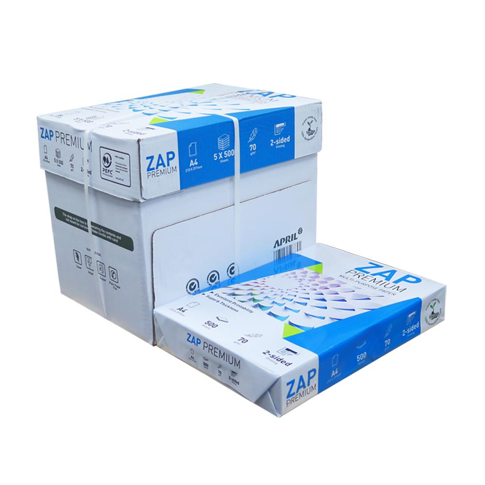 ZAP 70P A4  影印紙(5包/箱)