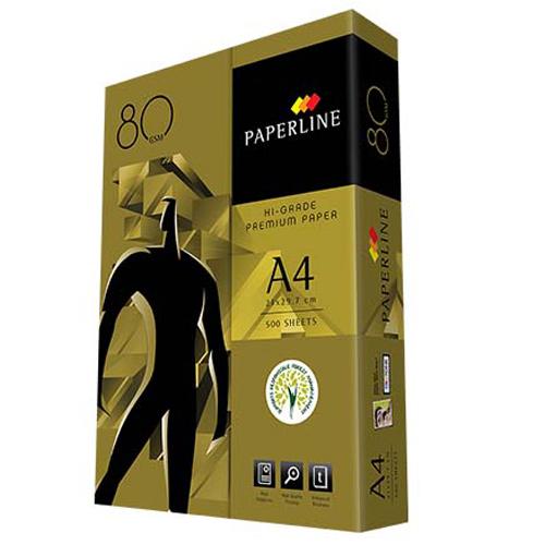 PAPERLINE金牌 80P A4影印紙(每箱5包)