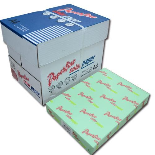 190 / 70P / A4 淺綠 影印紙(每箱5包)