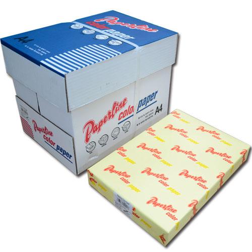 110 / 70P / A4 淺黃 影印紙(每箱5包)