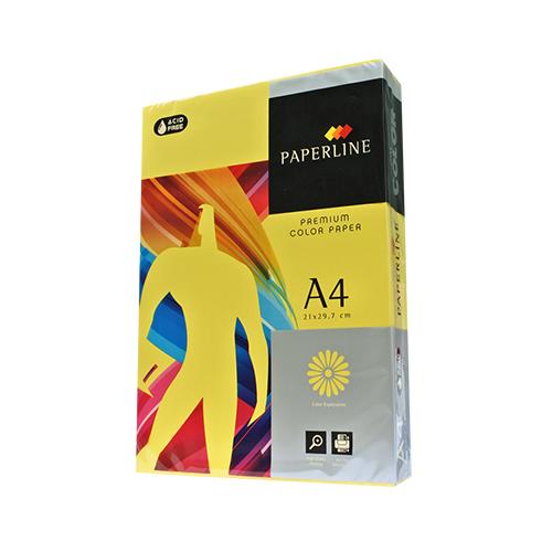 210 / 80P / A4 檸檬黃 影印紙(每箱5包)