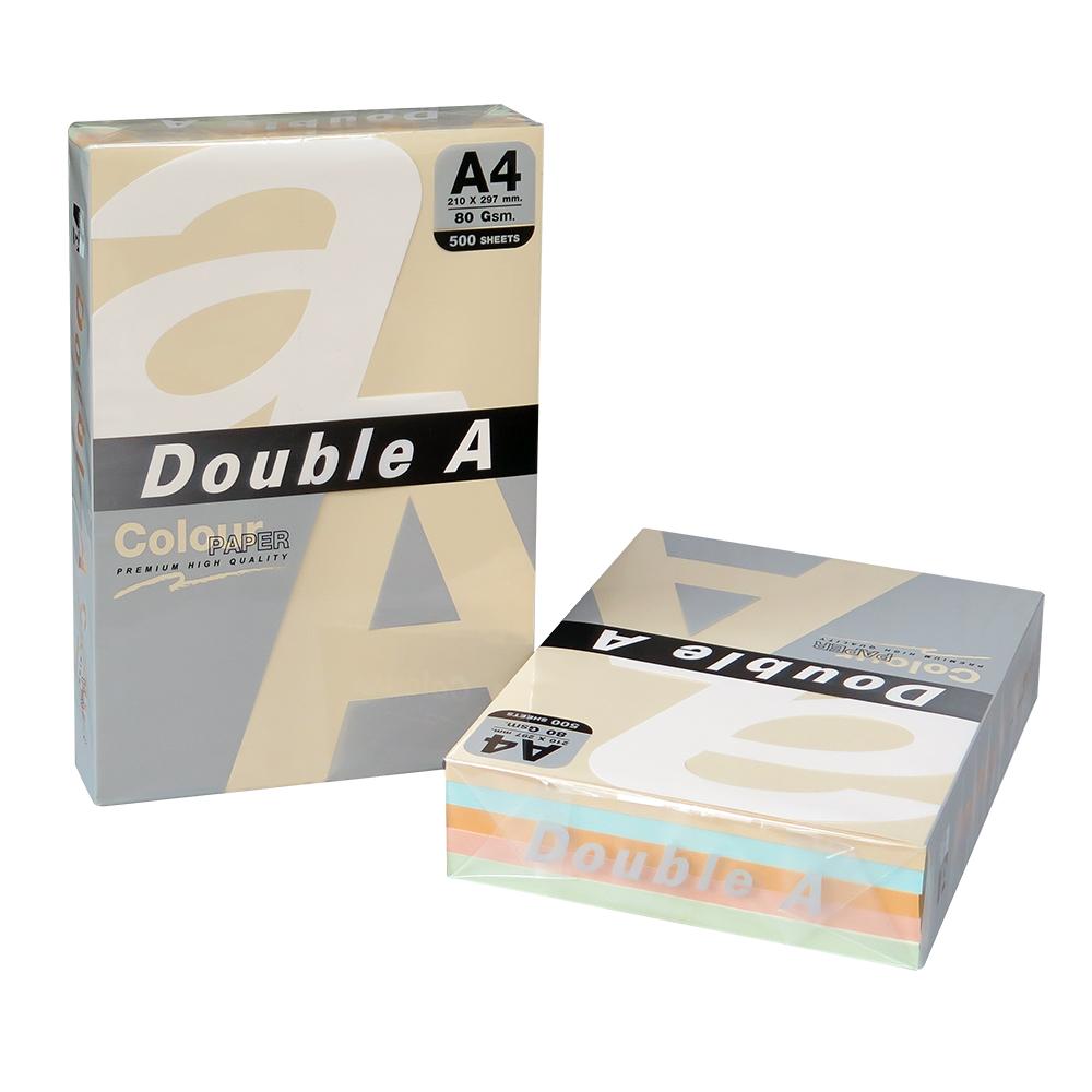 @Double A 五色多功能紙 A4/80P 500張