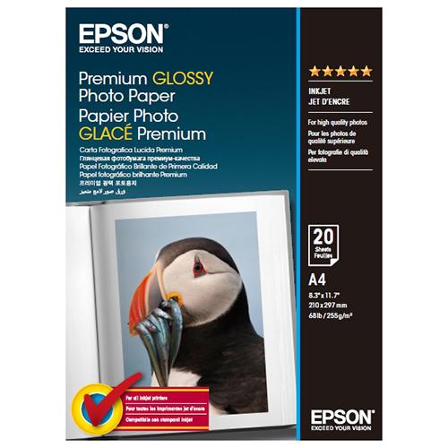 EPSON S041287 A4優質相片紙20入
