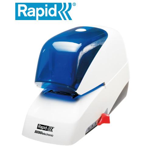 Rapid R-5050e藍蓋電動釘書機50張