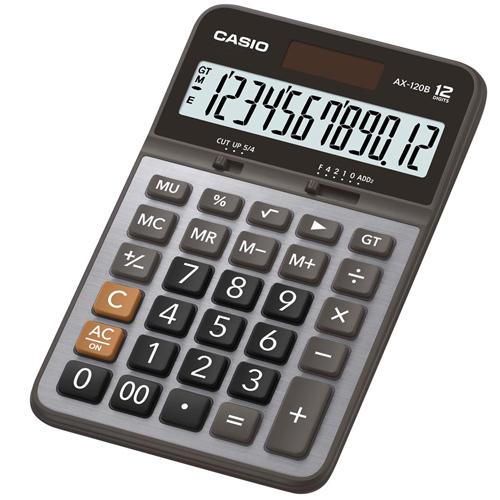 CASIO AX-120B桌上型計算機12位數