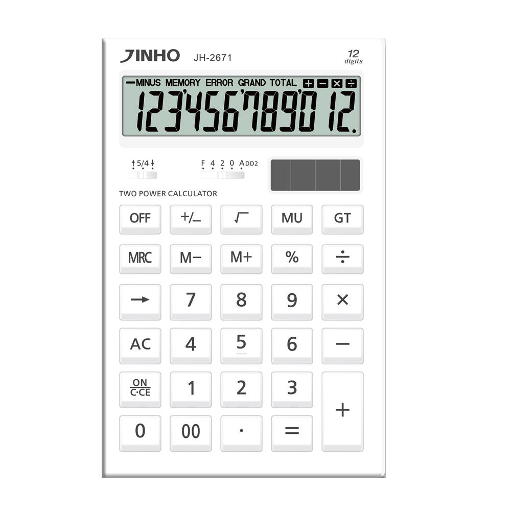 JINHO JH-2671 京禾印象白12位元計算機
