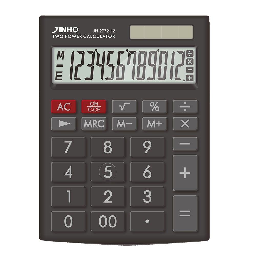JINHO JH-2772-12 京禾黑色12位元計算機