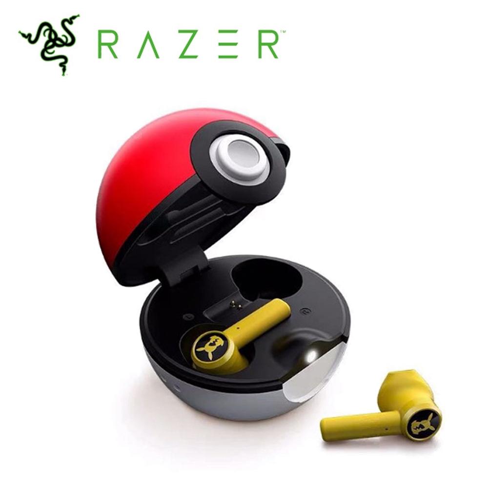 雷蛇Razer皮卡丘限定款 真 無線電競耳機麥克風