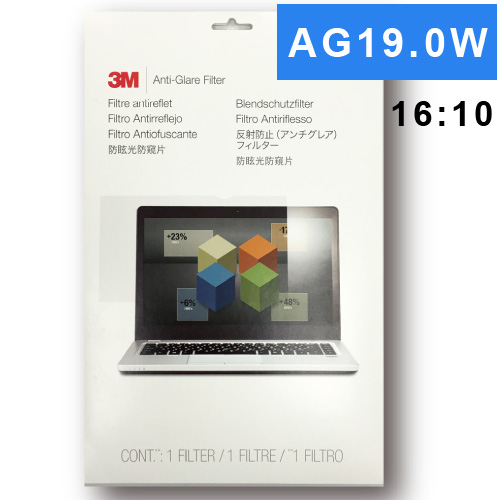 3M  AG19.0W 螢幕防眩光片(16:10)