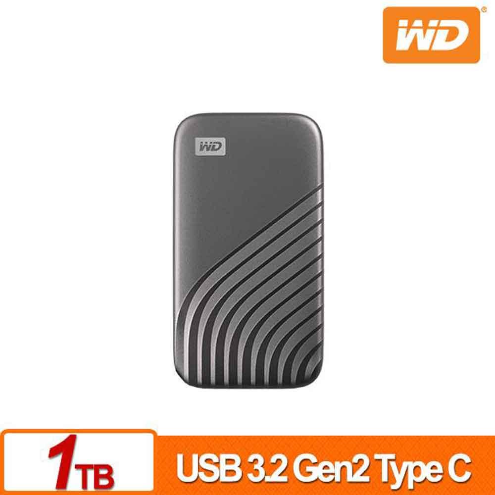 WD My Passport SSD 1TB(灰)外接式硬碟