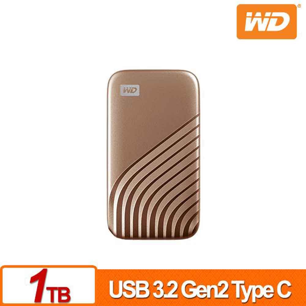 WD My Passport SSD 1TB(金)外接式硬碟