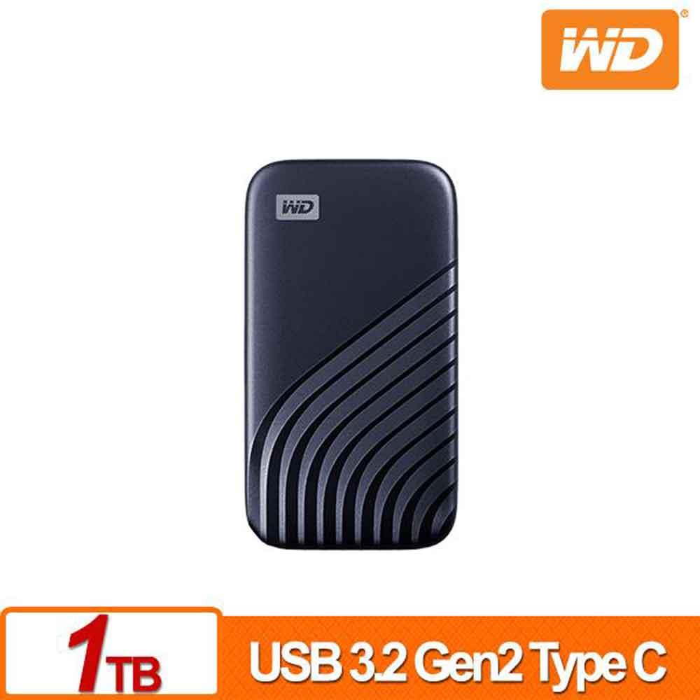 WD My Passport SSD 1TB(藍)外接式硬碟