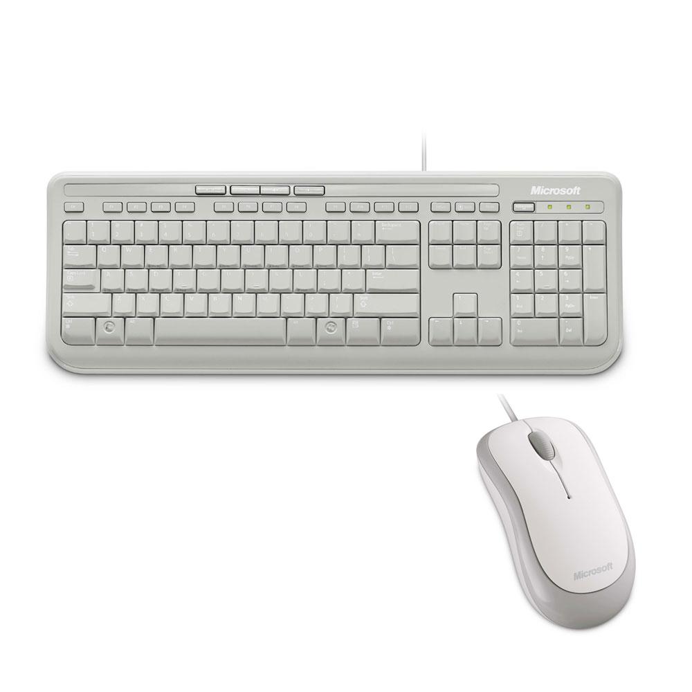 微軟 600(白)標準滑鼠鍵盤組