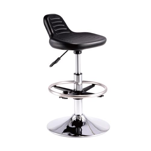 潔保PU-036黑 圓盤吧檯椅