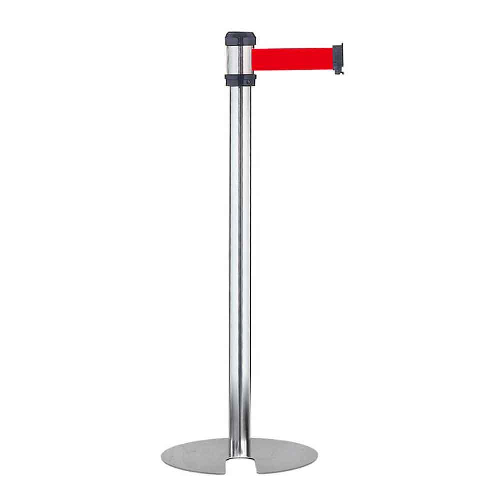 RS-A2SU 紅帶 銀柱萬向U型欄柱(標準型)