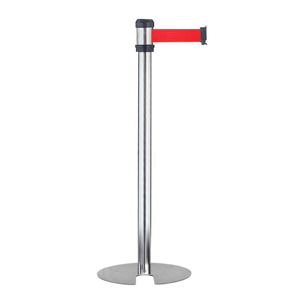 RS-A2DU 紅帶 銀柱萬向U型欄柱(經濟型)