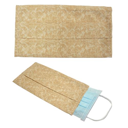 韓風純樸米碎花純棉布口罩套
