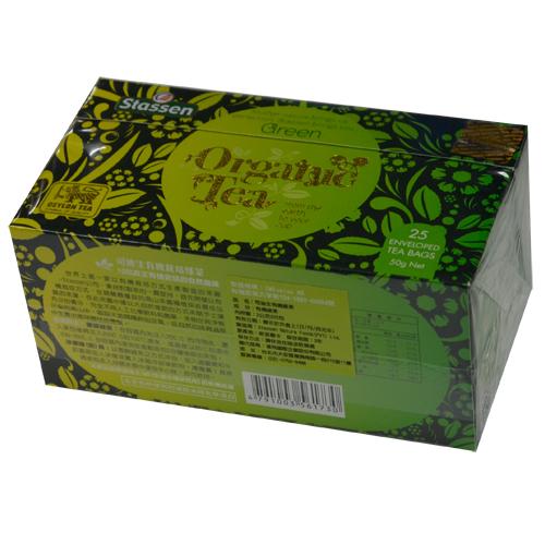 司迪生 有機綠茶 2公克x25包