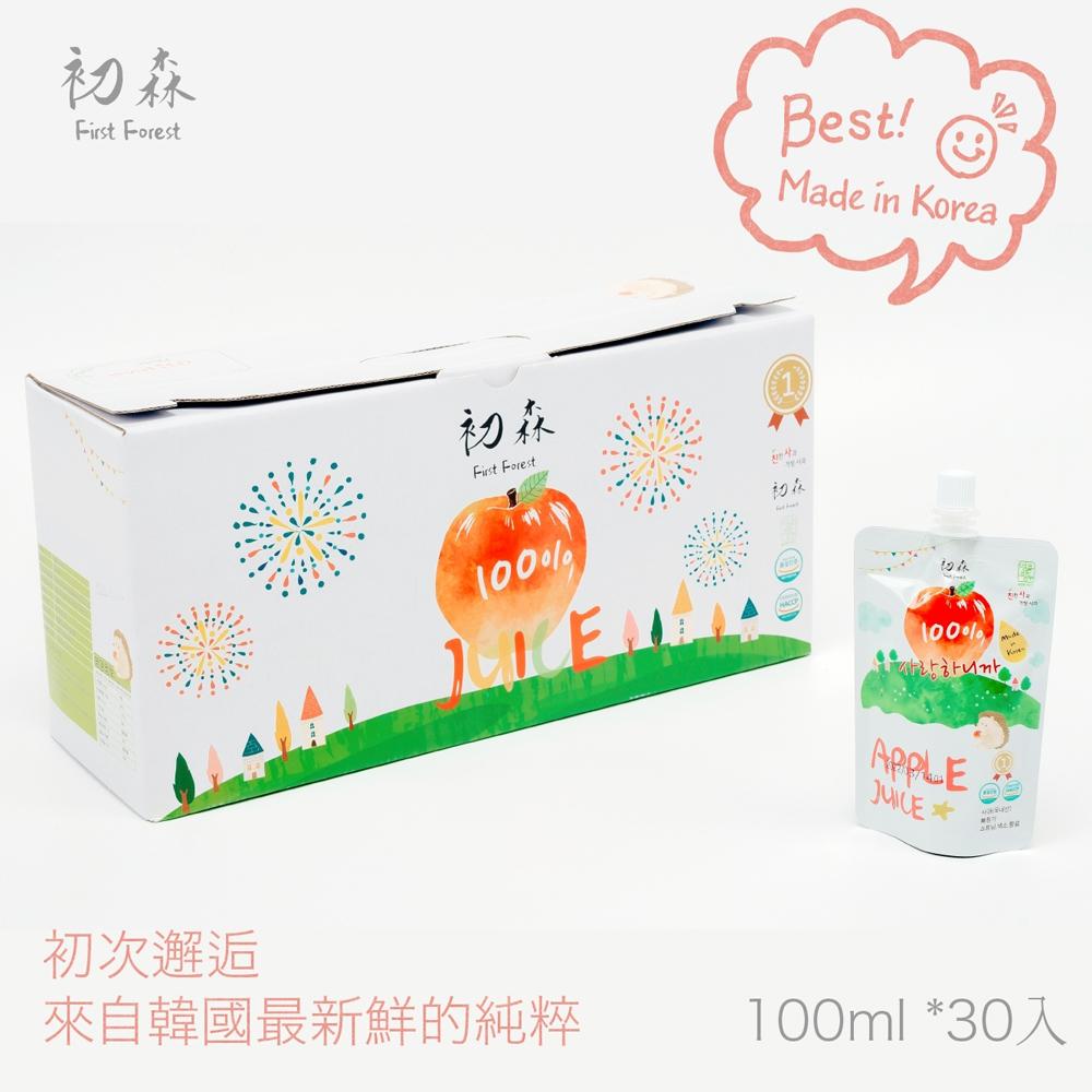 韓國初森蘋果汁