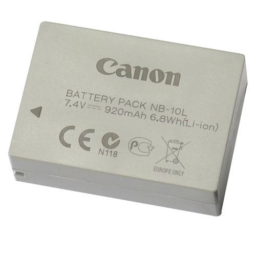 Canon NB-10L  原廠相機電池