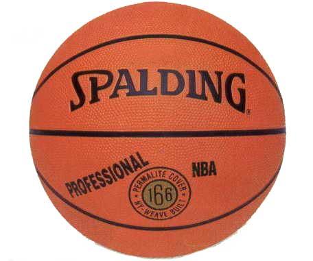 斯伯丁籃球#166 (附球針.球網)