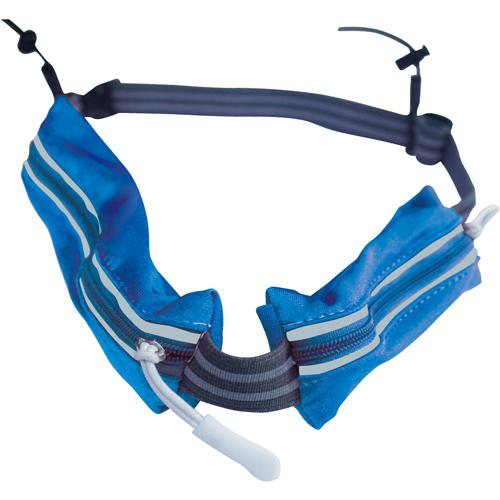 成功 S1815A 炫藍 多功能路跑雙腰包