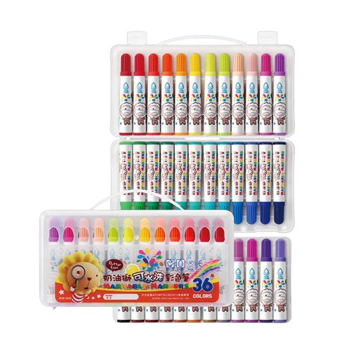 奶油獅 BLW-36/B 36色可水洗彩色筆